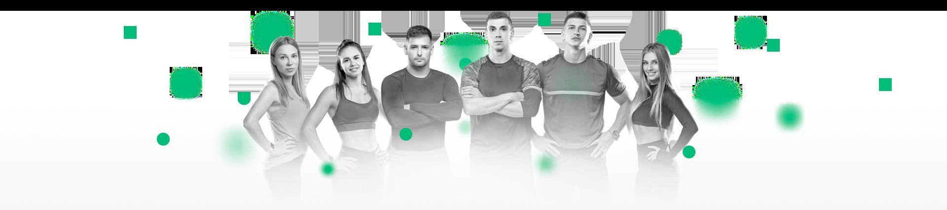Тренерский состав сервиса онлайн фитнеса
