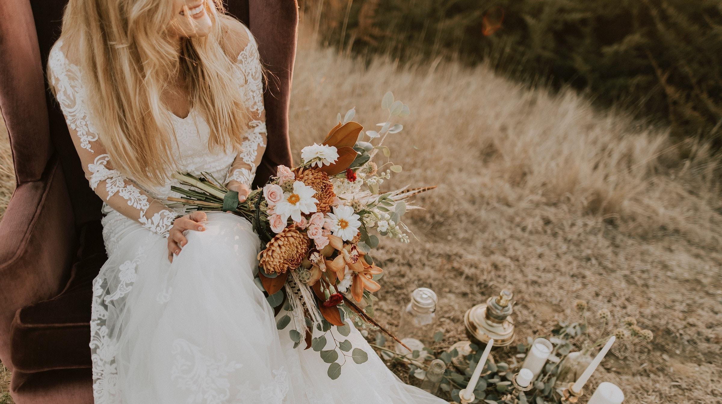 Wedding agency website development